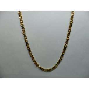 Link Necklace Yellow Gold