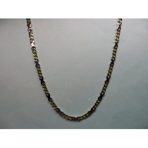 Link Necklace Bicolor