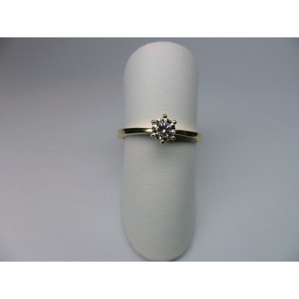 Solitaire 0.25 crt. Yellow Gold
