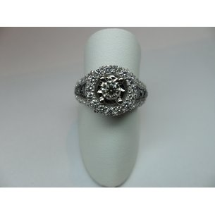 Halo Entourage Ring Witgoud