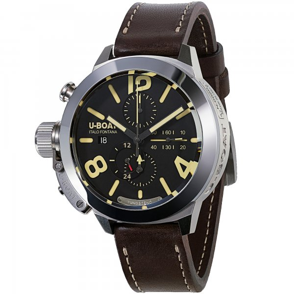 U-Boat Classico Tungsten Chrono Movelock Horloge 8075