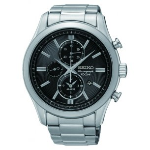 Seiko Chronograph Watch SNAF67P1