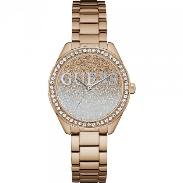 Guess Watches Glitter Girl Horloge W0987L3